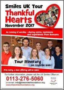 Thankful Hearts Tour Flier