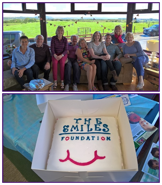 Fundraising and cake
