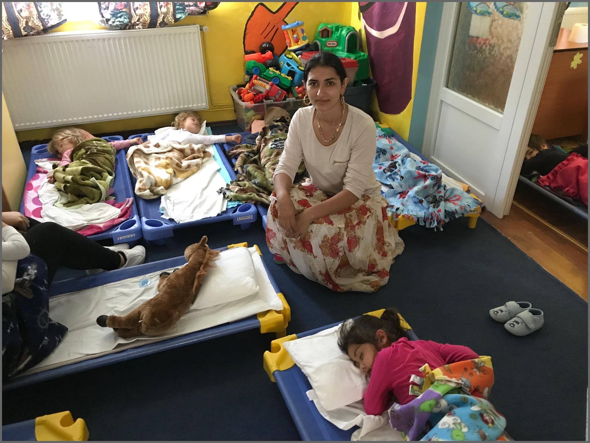 Florica in the nursery
