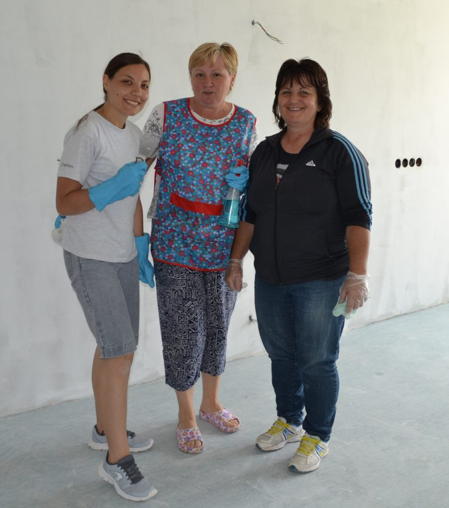 Staff Work Team at Tileagd