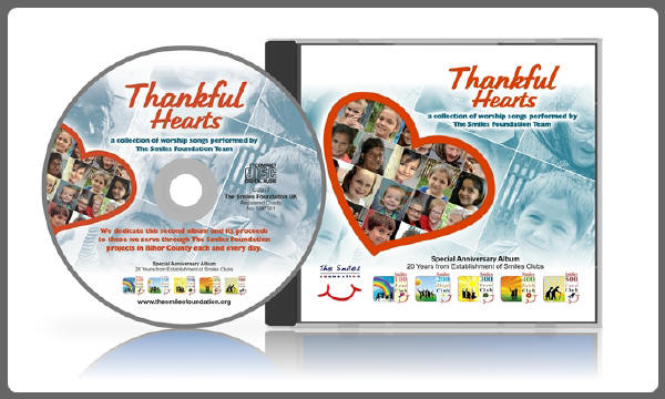 Thankful Hearts CD Cover