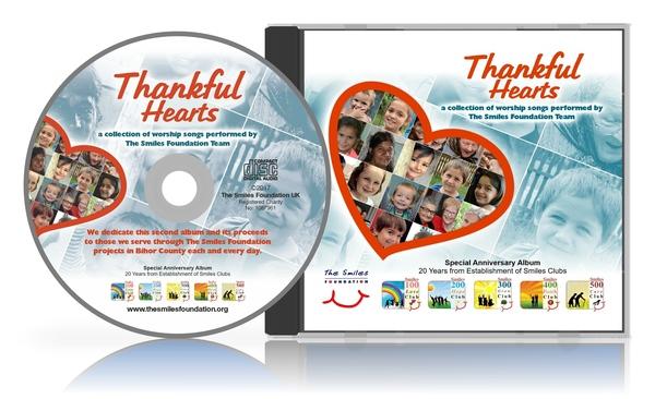 Thankful Hearts CD
