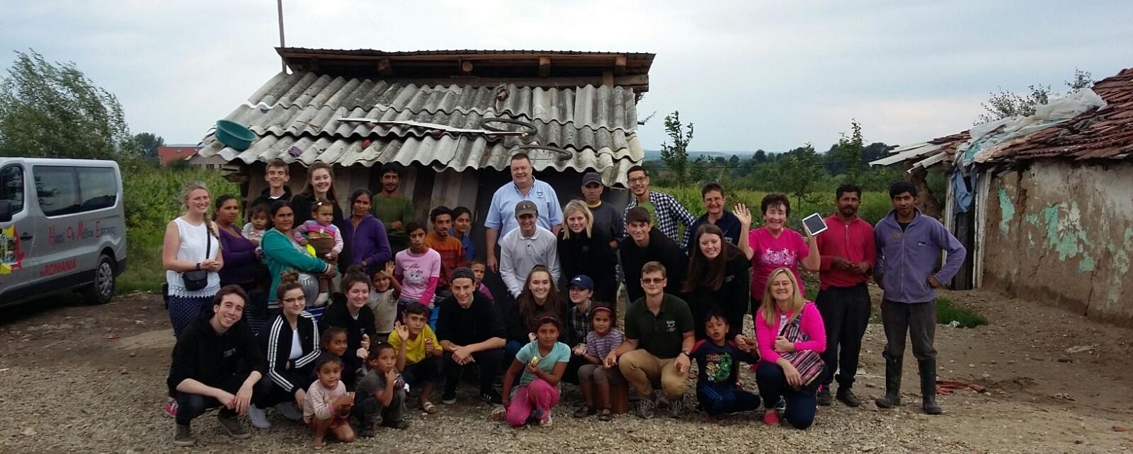 Mission Team in Rapa, Romania