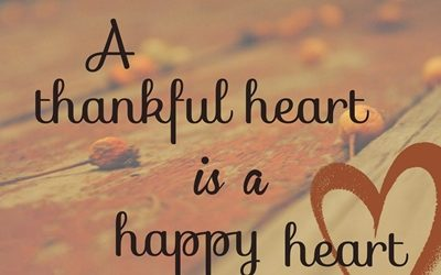 thankful heart