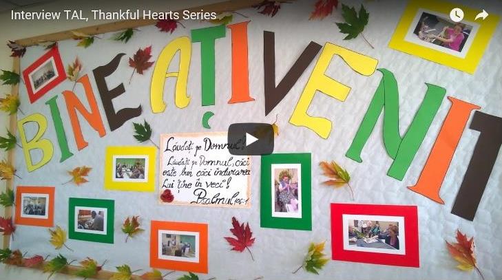 Thankful hearts video
