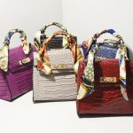 handbag and scarf