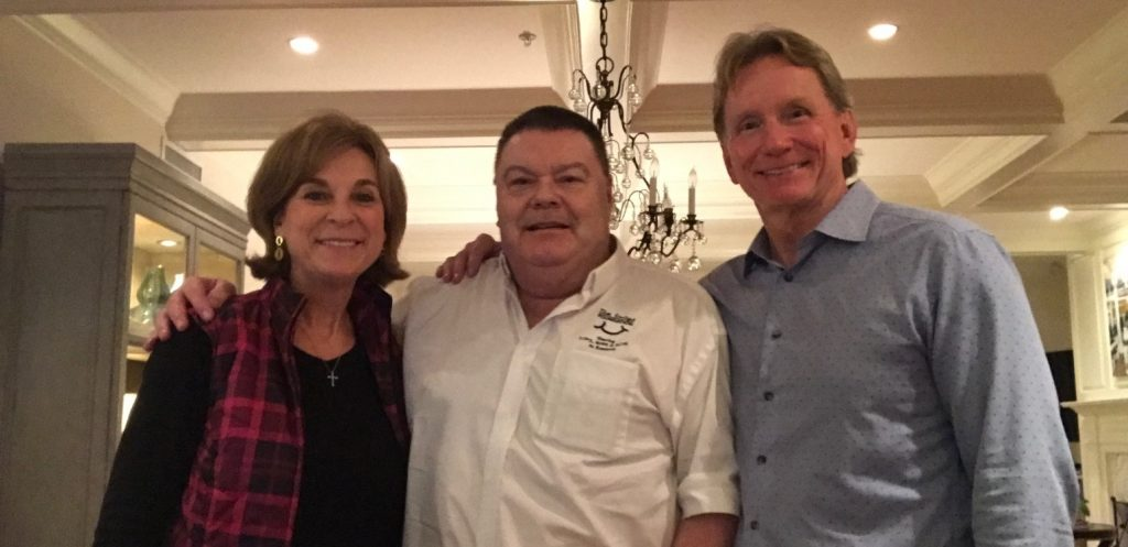 Drs Jim & Donna Watts with Kevin