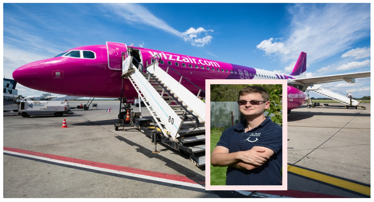 Luke and Wizzair!!