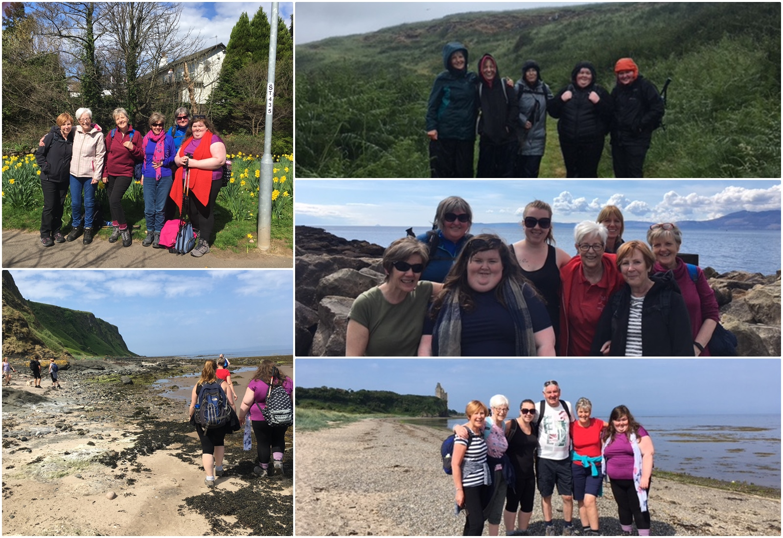 Ayrshire Coastal Path - Team Jean