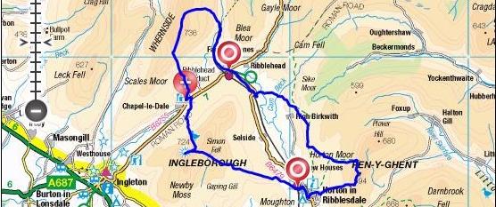 three peaks route