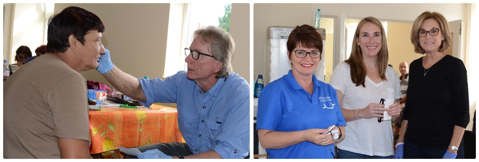 Dr Jim Ann, Erin & Dr Donna