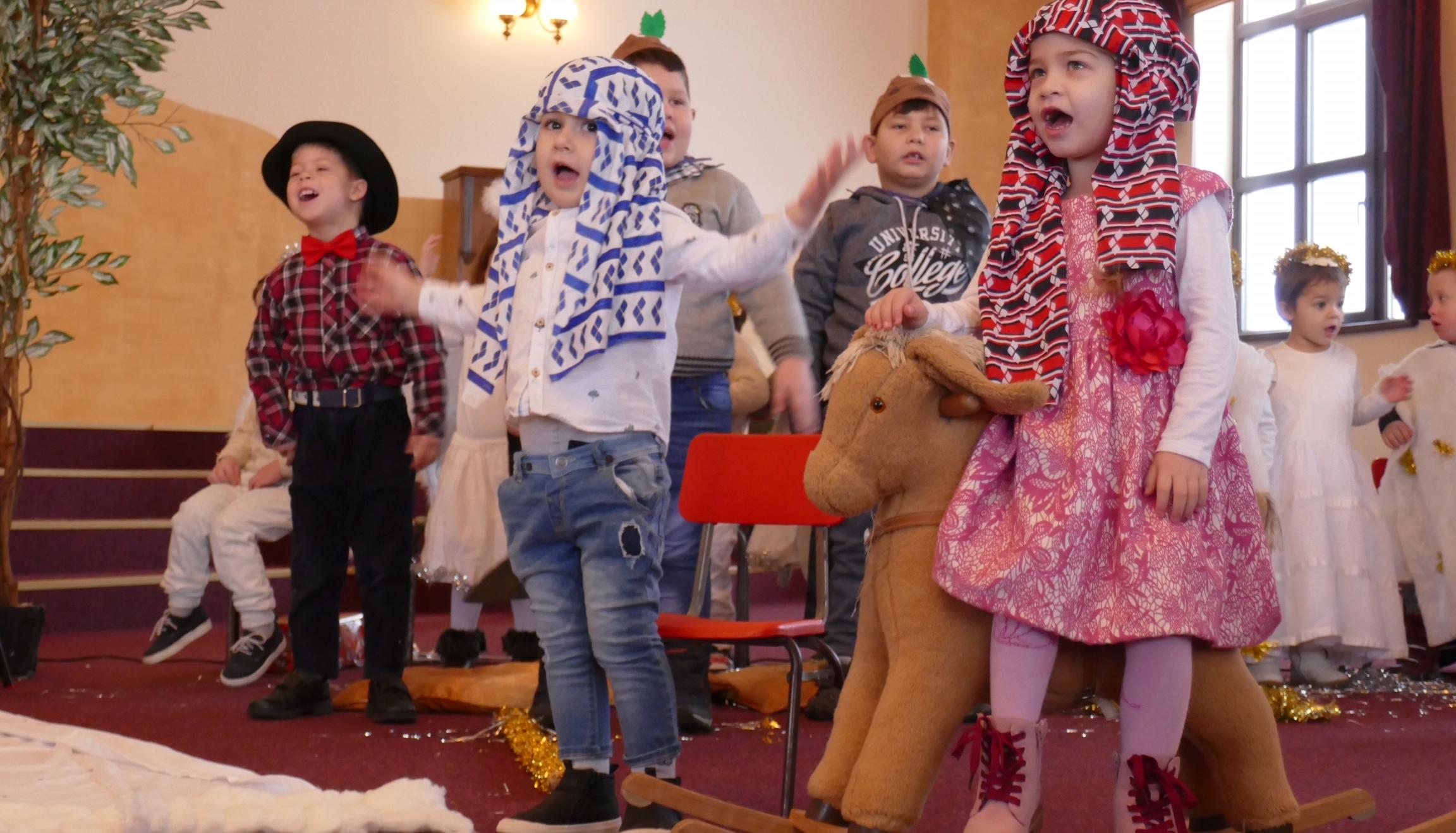 Nativity at Tileagd Nursery