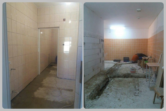 Bathroom work at Tileagd