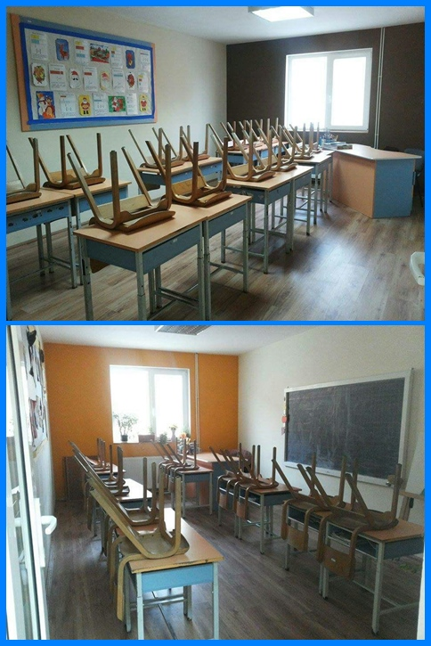 Tileagd Classrooms