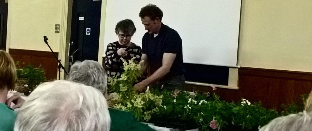 Gardening demonstration