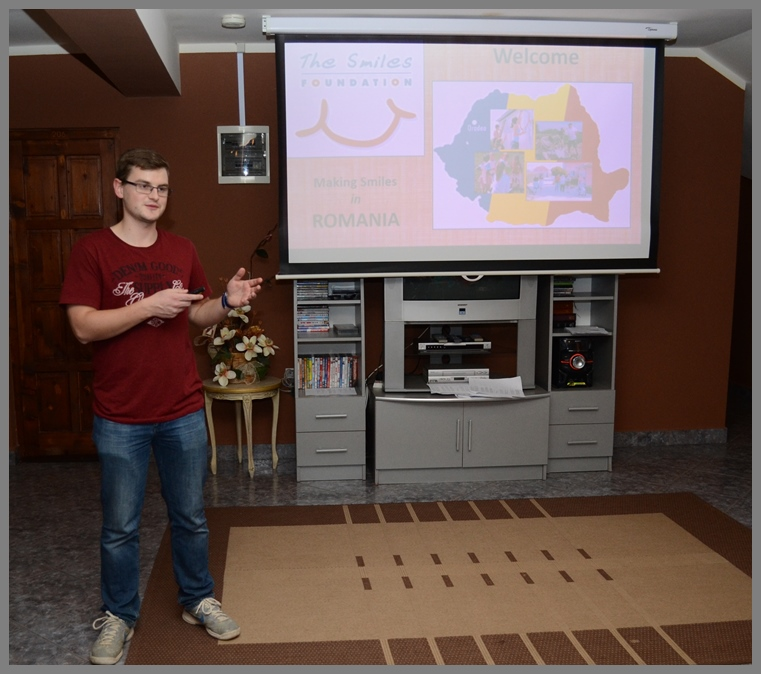 luke presenting