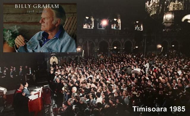 Billy Graham in Timisoara