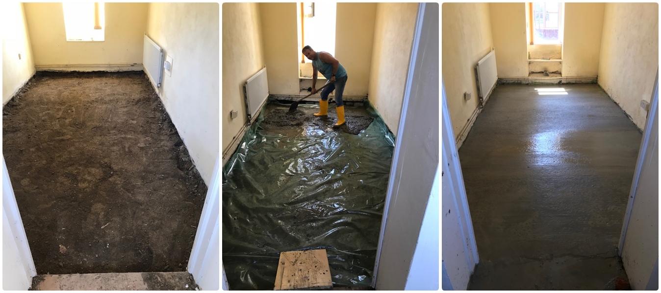 Dezna floor work