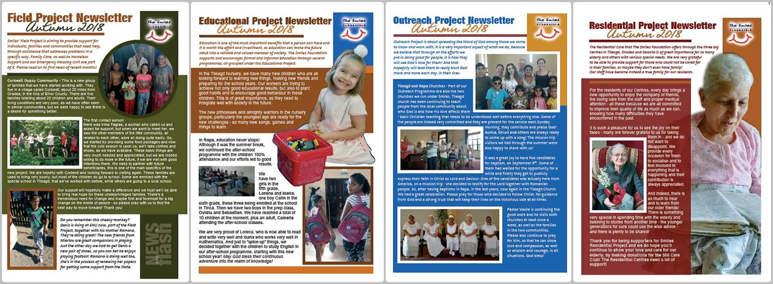 Project Newsletters