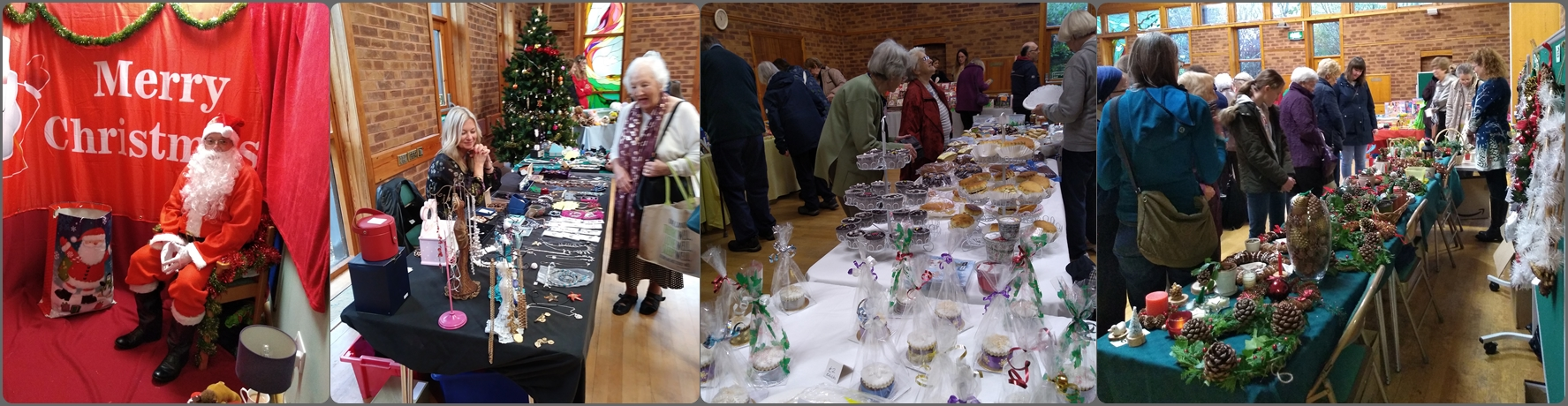 Christmas Market run by Carol Woodward