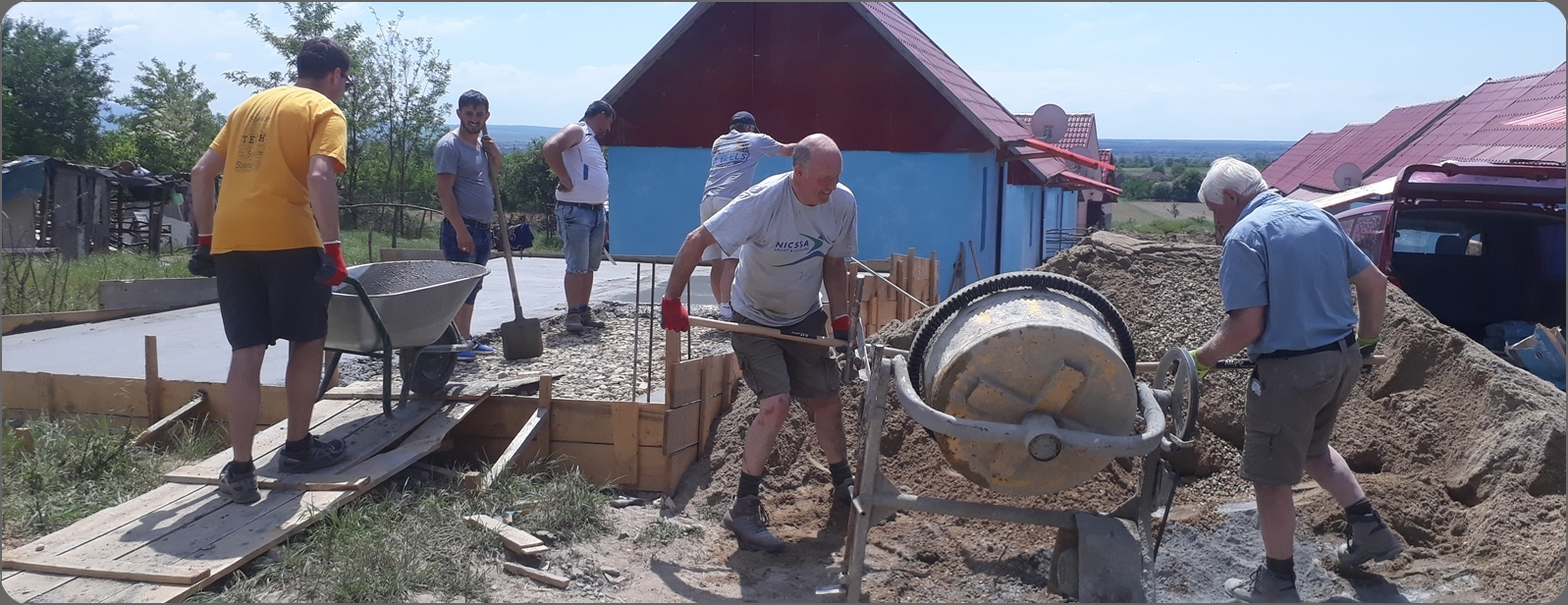 Rapa House Build 2018