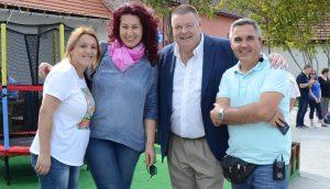 Maria, Dr Diana, Kevin and Adi