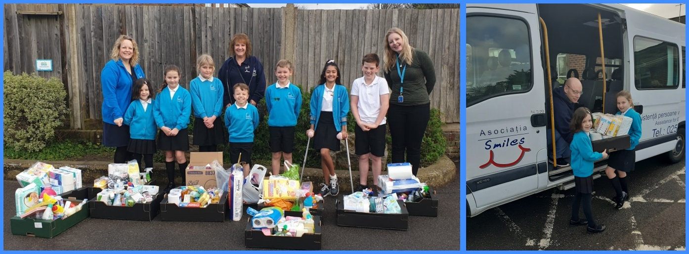 Student School Council, Acting Head Mrs Simpson, and Miss Marsham