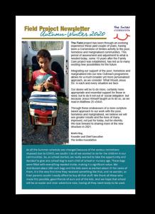 2020 Field Project Newsletter