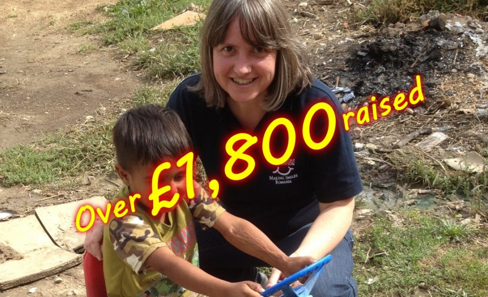 Over £1,800 raised
