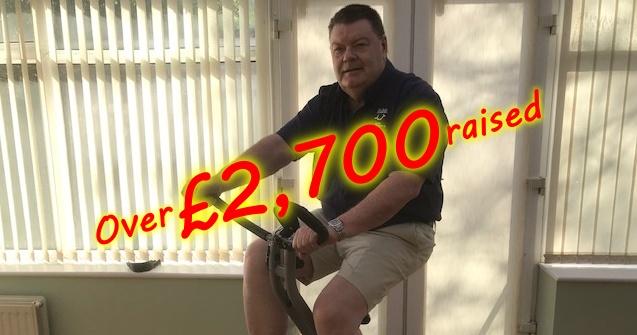 Over £2,700 raised