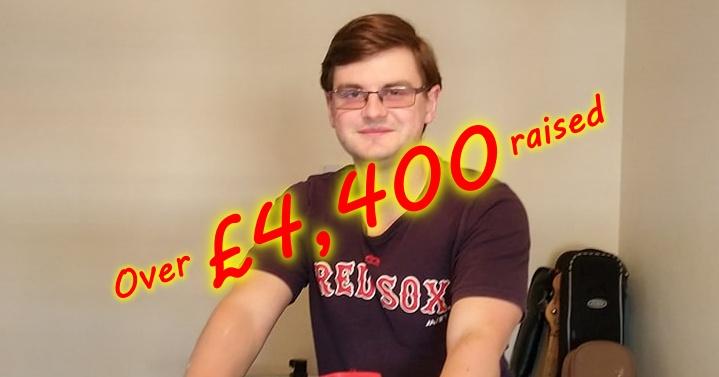 Over £4,400 raised