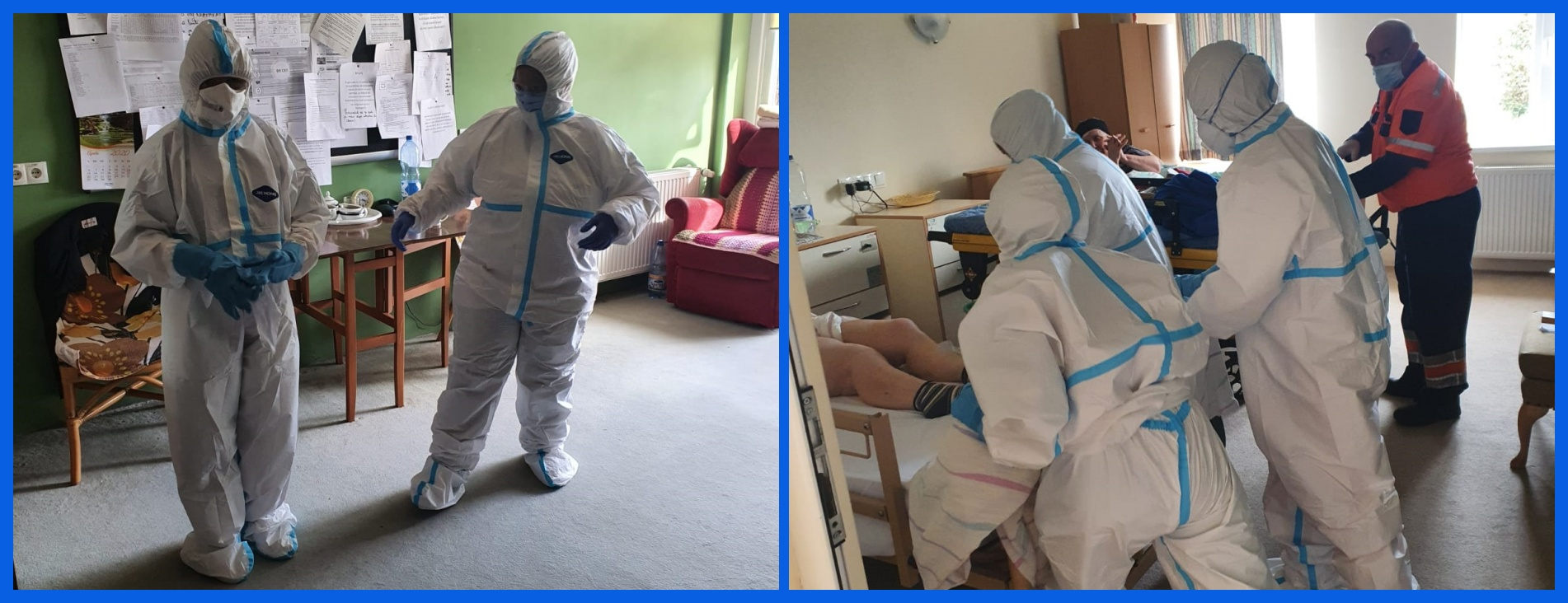 Staff at JFL in PPE