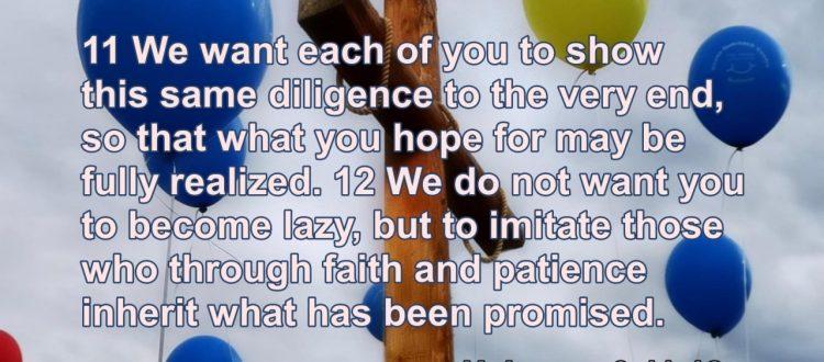 Dezna cross and verse