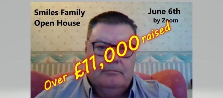 Over £11,000 raised