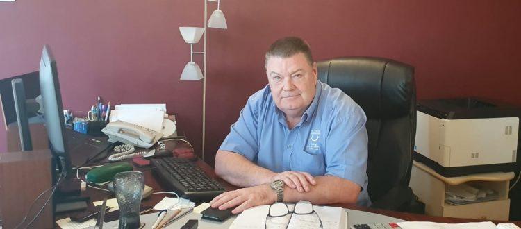 Kevin in Cihei office