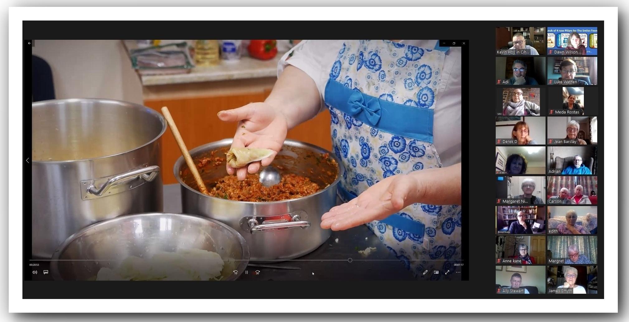 Meda cooking Sarmale