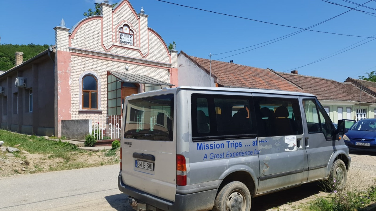 Donated bus